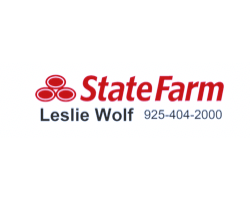 State Farm Leslie Wolf logo